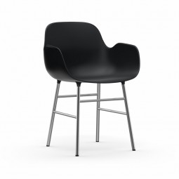 Normann Copenhagen Form Armchair Stol Sort-20