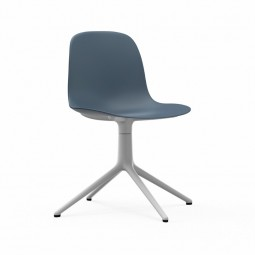 Normann Copenhagen Form Chair Swivel Alu Hvid-20