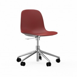 Normann Copenhagen Form Chair Swivel Med Hjul Alu-20