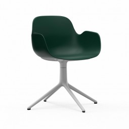 Normann Copenhagen Form Armchair Swivel Sort Alu-20