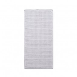 Normann Copenhagen Håndklæde Imprint Grid Syren 50x100 cm-20