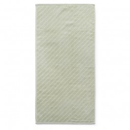 Normann Copenhagen Badehåndklæde Imprint Slash Pistacie 70x140 cm-20