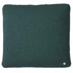 Ferm Living Quilt Pude Mørkegrøn 45 x 45 cm.-20