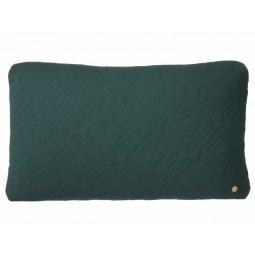 Ferm Living Quilt Pude Mørkegrøn 40 x 60 cm.-20