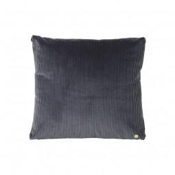 Ferm Living Corduroy Pude Mørkegrå 45 x 45 cm-20