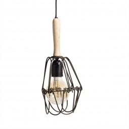 Muubs Lampe med træhåndtag Paula-20