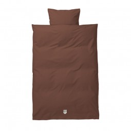 Ferm Living Sengetøj Hush Cognac Junior-20