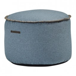 SACKit RETROit Medley Puf Drum Dusty Blue-20