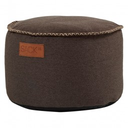 SACKit RETROit Canvas Drum Dark Brown-20