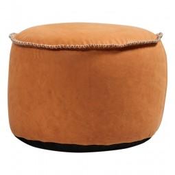SACKit RETROit Dunes Drum Puf Cognac Læder-20