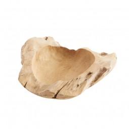 Muubs Rustik skål i teaktræ 60 cm-20