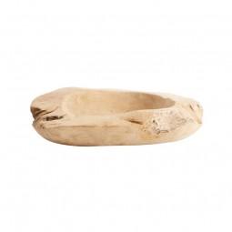 Muubs Rustik skål i teaktræ 40 cm-20