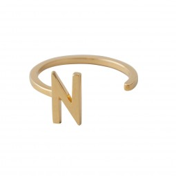 Design Letters Ring Guld-20