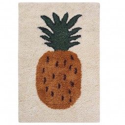 Ferm Living Kids Fruiticana Tufted Tæppe Ananas Large-20
