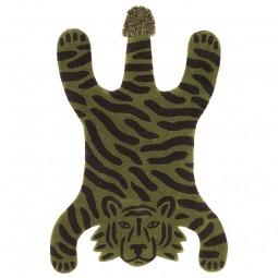 Ferm Living Safari Tæppedyr Tiger Grøn-20