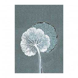Pernille Folcarelli Geranium Teal Vægtæppe 70x100 cm-20