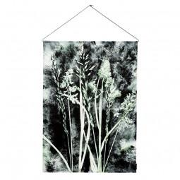 Pernille Folcarelli Grass Charcoal Vægtæppe 70x100 cm-20