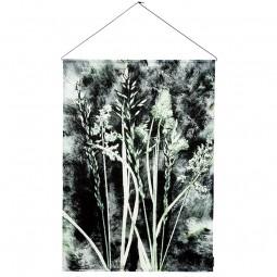 Pernille Folcarelli Grass Charcoal Vægtæppe 100x140 cm-20