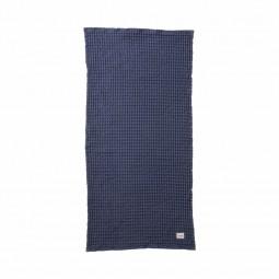 Ferm Living Håndklæde 50 x 100 cm Mørkeblå-20