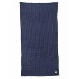 Ferm Living Bade Håndklæde 70 x 140 cm Mørkeblå-20