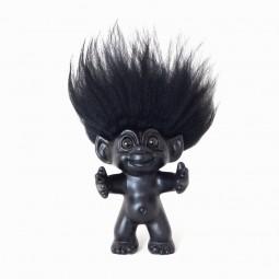 bySommer Lykketrold Mat Sort m. Sort hår 12 cm-20