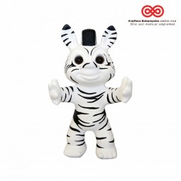 bySommer Lykketrold Zebra Trold 11 cm.-20