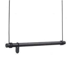 LindDNA Swing Bøjlestang Eg Sort 80 cm-20