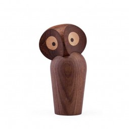 Architectmade Ugle The Owl Small Røget Eg-20