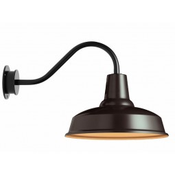 Eleanor Home Barn Lampe Sort / Goldie-20