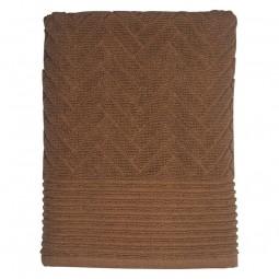 Mette Ditmer Badehåndklæde BRICK Tobacco 70x133 cm-20