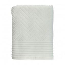 Mette Ditmer Håndklæde BRICK Off White 50x95 cm-20