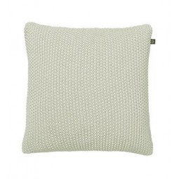 By Nord Strikpude Fine knit Light Grey 50x50 cm-20