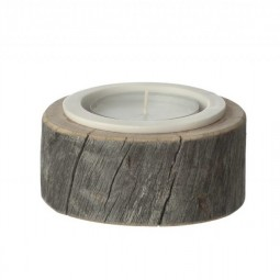 by Piippola Silver Pine Candle Holder Large-20