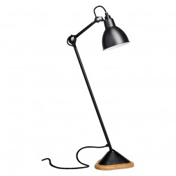 DCW Editions Lampe GRAS Bordlampe No 206 Sort/Sort-20