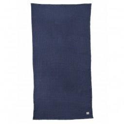 Ferm Living Badehåndklæde 70 x 140 cm Mørkeblå-20