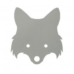 Ferm Living Børne Lampe Fox Støvet grøn-20