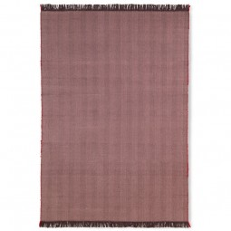 Ferm Living Herringbone Plaid Aubergine-20