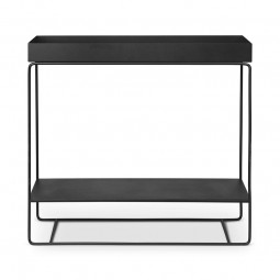 Ferm Living Plant Box Two-Tier Konsolbord Sort-20