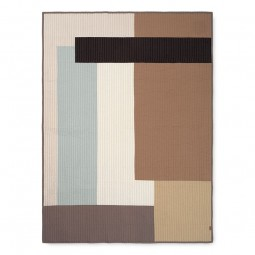 Ferm Living Shay Quilt Plaid Desert 130x180 cm-20