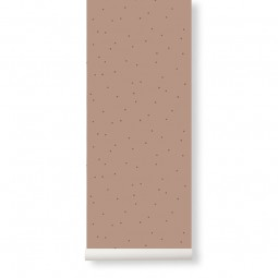 Ferm Living Tapet Dot Dusty Rose-20
