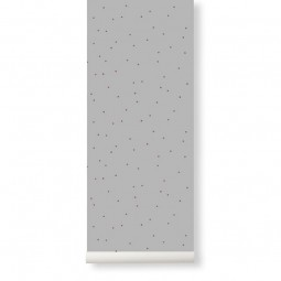 Ferm Living Tapet Dot Grey-20