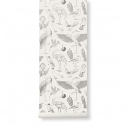 Ferm Living Tapet Katie Scott Birds Off-White-20