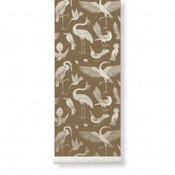 Ferm Living Tapet Katie Scott Birds Sugar Kelp-20