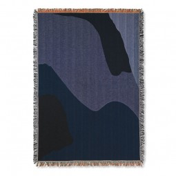 Ferm Living Vista Plaid Dark Blue-20