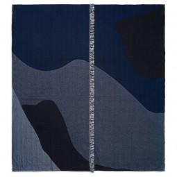 Ferm Living Vista Sengetæppe Dark Blue-20