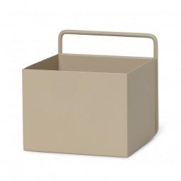 Ferm Living Wall Plant Box Firkantet Cashmere-20