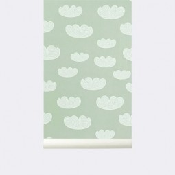 Ferm Living Tapet Cloud Mint-20