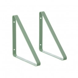 Ferm Living Metal Shelf Hangers Hyldeknægte i Mint-20
