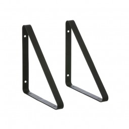 Ferm Living Metal Shelf Hangers Hyldeknægte i Sort-20