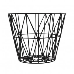 Ferm Living Wire Basket Medium Sort-20